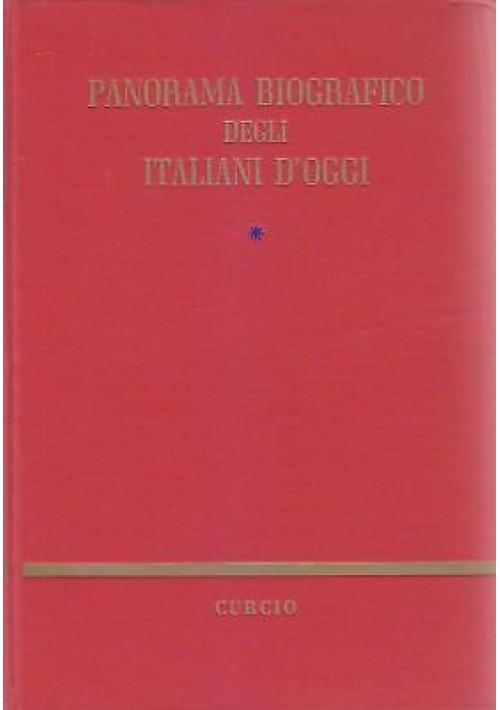 PANORAMA  BIOGRAFICO DEGLI ITALIANI D'OGGI  Gennaro Vaccaro completo 2 volumi *