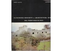 PATRIMONIO BOSCHIVO ARCHITETTURA RURALE TERRITORIO NOCI De Pinto - Macchia 1987
