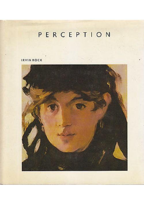 PERCEPTION di Irvin Rock 1984 Scientific American Library con STEREOSCOPIO