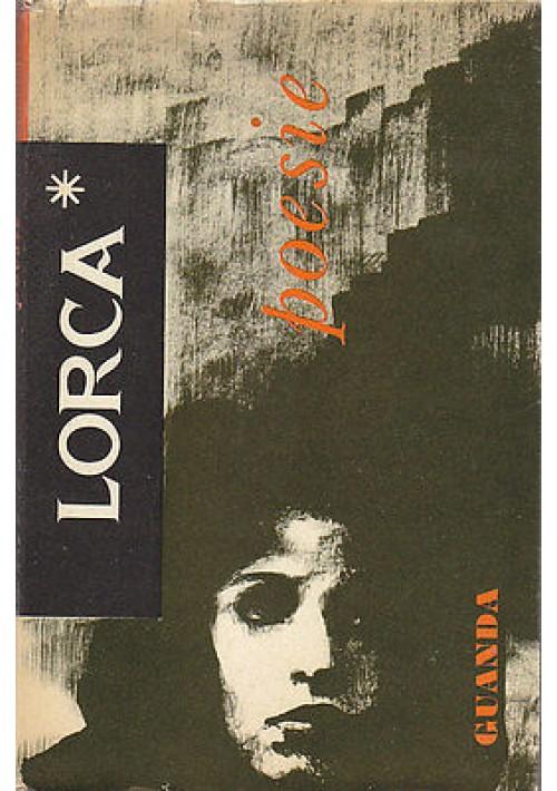 POESIE di Federico Garcia Lorca - Guanda editore 1959