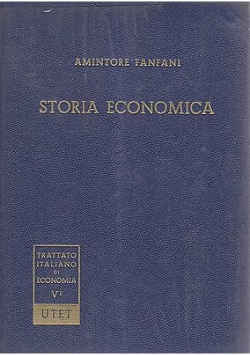 POLITICA ECONOMICA Cronache 1910 1960 Gustavo Del Vecchio 1968 UTET Edizione