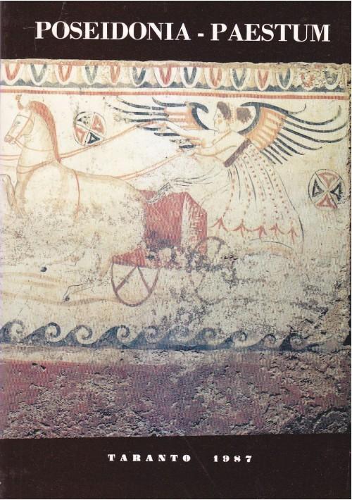POSEIDONIA PAESTUM Atti del Ventisettesimo Convegno sulla Magna Grecia 1987 *
