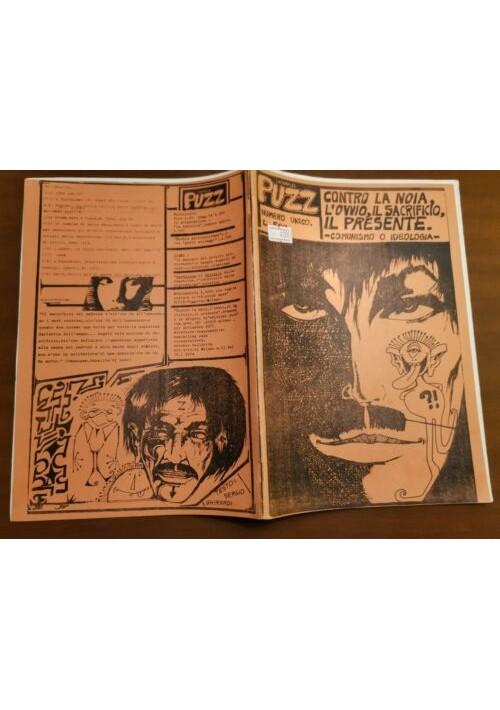 PUZZ numero unico CONTRO LA NOIA 1975 fumetti rivista controcultura alternativa