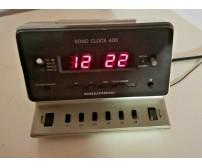 RADIOSVEGLIA GRUNDIG SONO CLOCK 400 Vintage radio sveglia design modernariato
