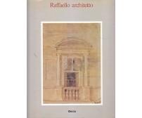 RAFFAELLO ARCHITETTO a cura di Luitpold Frommel , Ray e Tafuri 1984 Electa *