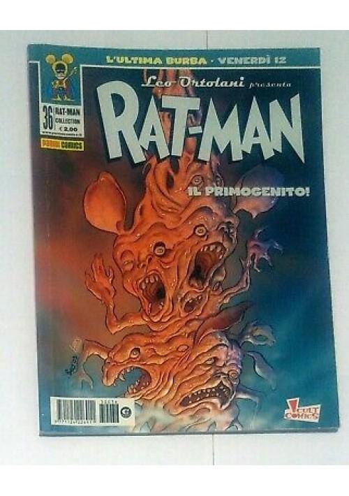 RAT MAN COLLECTION 36 il primogenito prima edizione Leo Ortolani 15 maggio 2003