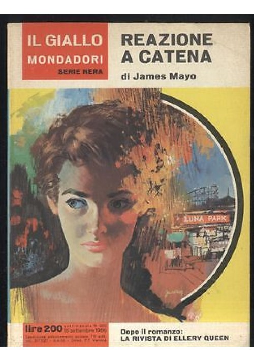 REAZIONE A CATENA di James Mayo n. 920 Il giallo Mondadori 1966