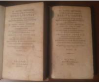RECITATIONES IN ELEMAENTA IURIS CIVILIS 1824 Gottlieb Heineccii 2 voll. COMPLETO