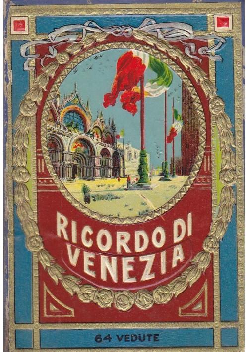 RICORDO DI VENEZIA 64 vedute in b/n Copertina in cartone fustellato a colori