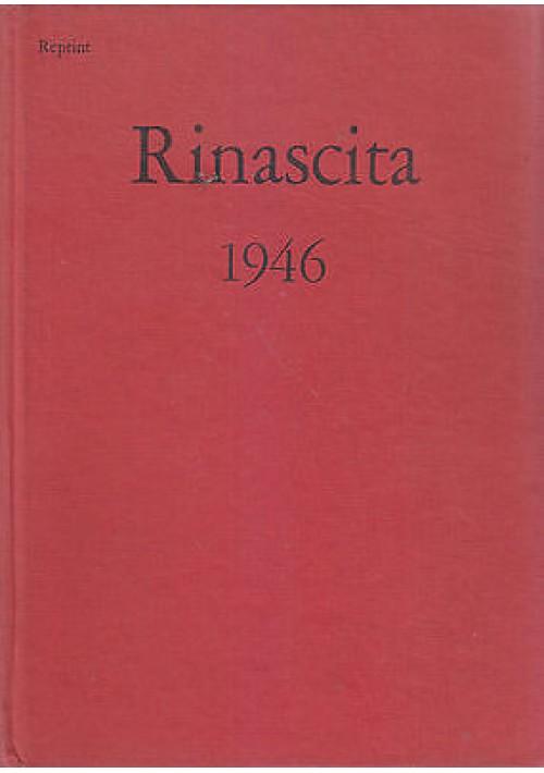 RINASCITA 1946 annata completa Anno III (REPRINT) Editori Riuniti 1975
