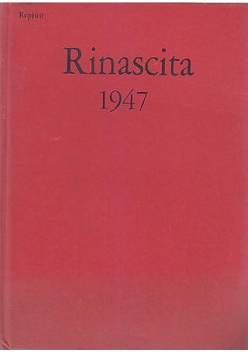 RINASCITA 1947 annata completa Anno IV (REPRINT) Editori Riuniti 1976
