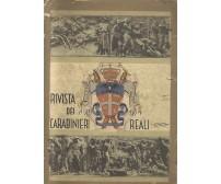 RIVISTA DEI CARABINIERI REALI Settembre ottobre 1937 anno IV n.5 studi militari