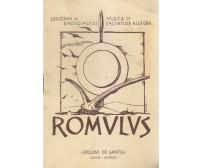 ROMULUS di Emidio Mucci 1952  Edizioni De Santis libretto d opera solo testo