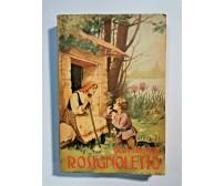 ROSIGNOLETTO di Olga Visentini 1949 SEI editore libro illustrato x ragazzi Edel
