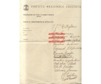 RUTIGLIANO calcio lettera intestata 1933? Autografo Vurro Francesco partita