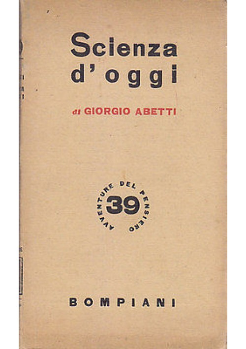 SALVATORE DI VITE di Joseph Lobel  1945 Bompiani  Avventure Del Pensiero