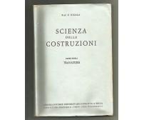 SCIENZA DELLE COSTRUZIONI 2 volumi Cicala TRAVATURE TEORIA DELLE TRAVI Levrotto