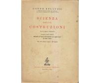 SCIENZA DELLE COSTRUZIONI volume III Odone Belluzzi 1952 Zanichelli cap. 25 e 26