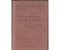 SERVIZIO SANITARIO MILITARE IN GUERRA Edoardo Lampis 1942 anno accademico