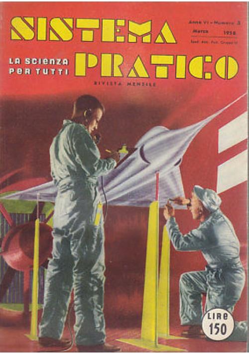 SISTEMA PRATICO A.VI - N .3 MARZO 1958 - amplificatore 10 watt per automobili
