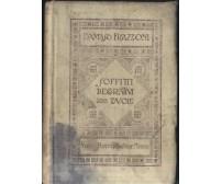 SOFFITTI DECORATIVI 200 TAVOLE di Damaso Franzoni 1919 Hoepli I edizione