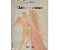 STORIA DEL CAVALIERE DES GRIEUX E DI MANON LESCAUT Abate Prevost 1943 Einaudi