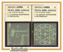 STORIA DELLA SCIENZA 5 VOLUMI a cura di Maurice Daumas 1976 Laterza libri Opera