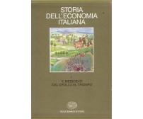 STORIA DELL'ECONOMIA ITALIANA vol.1 Il medioevo dal crollo al trionfo