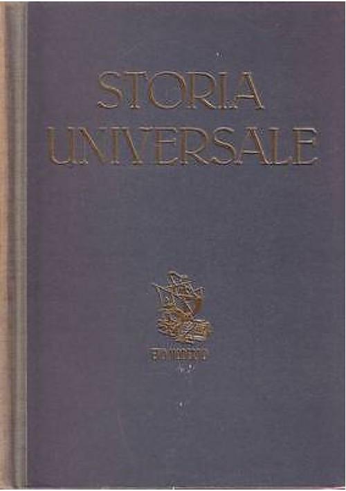 STORIA UNIVERSALE Evo moderno 2 volumi  di  Corrado Barbagallo  1946 utet