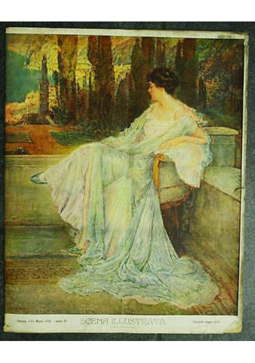 Scena Illustrata  fascicolo doppio anno VI n.5-6 del 1 marzo 1928