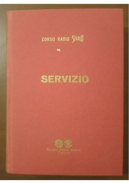 Scuola radio elettra SERVIZIO corso radio stereo presum. anni '60