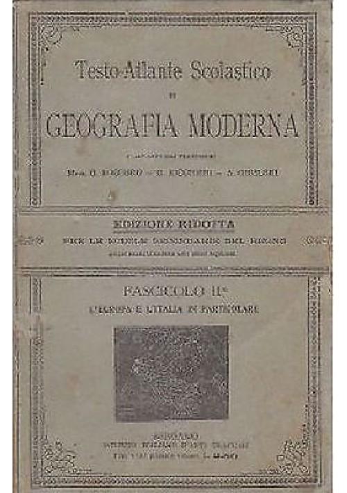 TESTO ATLANTE SCOLASTICO DI GEOGRAFIA MODERNA  di Roggero,  Ricchieri, Ghisleri