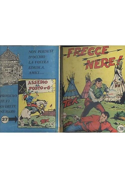 TEX - FRECCE NERE -  N.26 aprile 1966