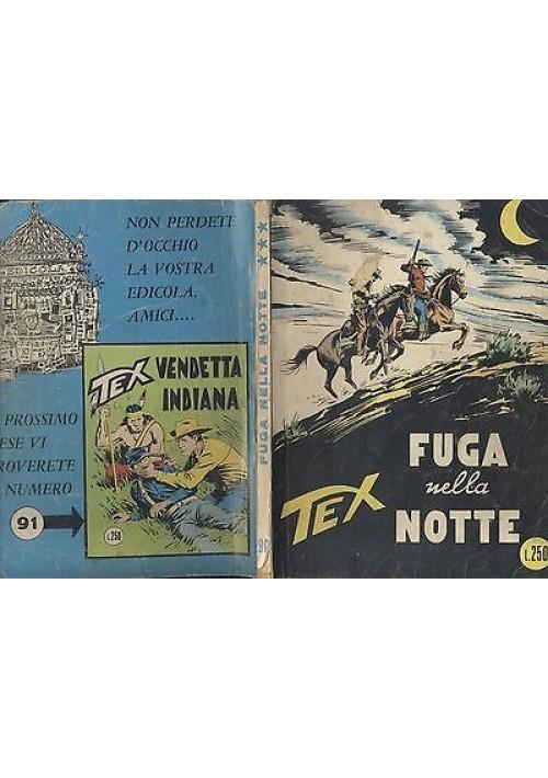 TEX FUGA NELLA NOTTE, N.90 agosto 1971