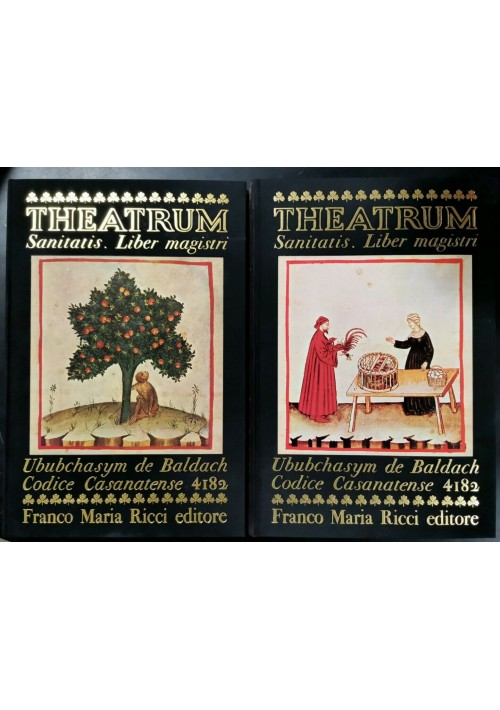 THEATRUM SANITATIS liber magistri VOLUMI 1 e 2 Franco Maria Ricci FMR libri