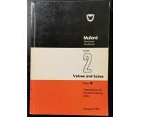 TRANSMITTING AND INDUSTRIAL HEATING TUBES Mullard Technical Handbook 1971 Libro