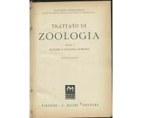TRATTATO DI ZOOLOGIA vol. I Augusto Stefanelli 1948 Macrì biologia generale