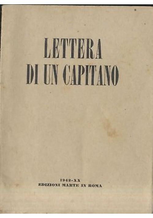 UNO' DUE' lettera aperta di un capitano al suo ex subalterno - Moscardelli 1942