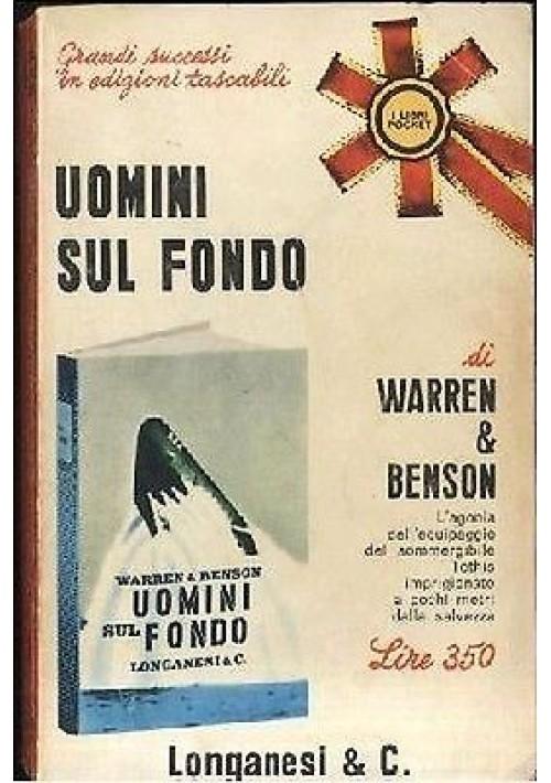 UOMINI SUL FONDO di Warren & Benson – sommergibili - II guerra mondiale 1966