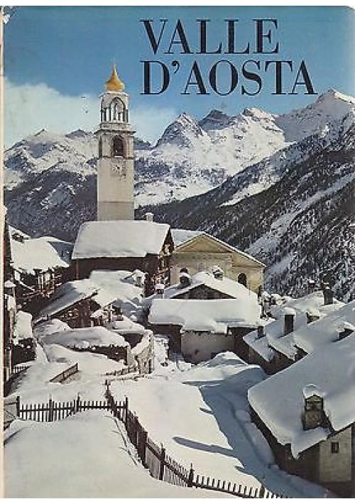 VALLE D'AOSTA di Giulio Brocherel 1968  Istituto Geografico De Agostini
