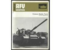 VICKERS BATTLE  TANK  di R. M. Ogorkiewicz 1973 AFV WEAPONS profile 45