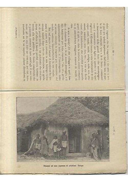 VITA DI VILLAGGI INDIANI di P G Stefanetti 1924 Istituto Missioni Estere editore