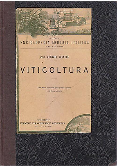 VITICOLTURA di Domizio Cavazza 1923 UNIONE TIPOGRAFICA EDITRICE TORINESE *