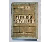 VITTORIO EMANUELE II di Francesco Cognasso 1942 Utet libro biografia re d'Italia