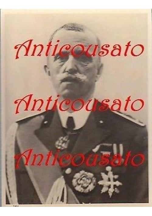 VITTORIO EMANUELE III - SAVOIA - CARTOLINA ORIGINALE