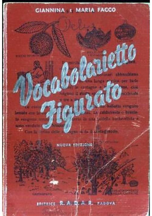 VOCABOLARIETTO FIGURATO di Giannina e Maria Facco 1952 Radar editrice