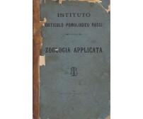 ZOOLOGIA ELEMENTARE Applicata agricoltura  Sebastiano Cavallero - Marin 1886