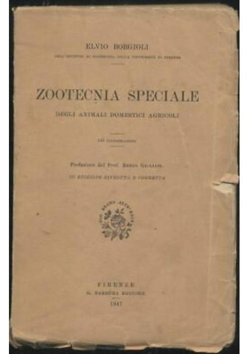 ZOOTECNIA SPECIALE DEGLI ANIMALI DOMESTICI AGRICOLI Elvio Borgioli 1947 Barbera*