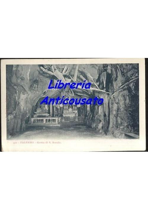 cartolina PALERMO GROTTA DI S. ROSALIA originale anni '30 NON VIAGGIATA