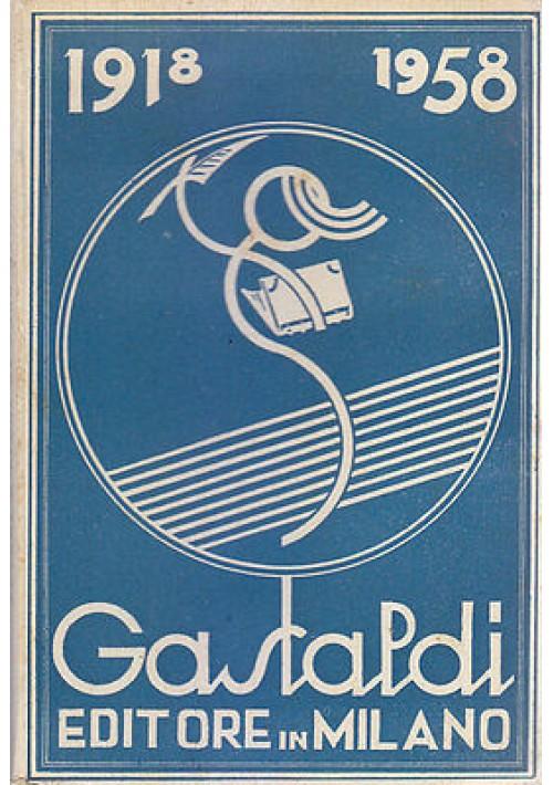 catalogo generale edizioni GASTALDI 1918 1958 EDITORE IN MILANO